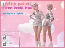 [PP] Hoodie Dress - Cream
