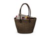 Dutchie mesh old wicker beach bag decorational and wearable with bento hand pose