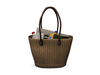 Dutchie mesh wicker beach bag decorational and wearable