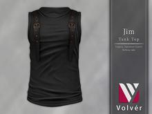 //Volver// Jim Tanktop - Black
