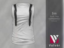 //Volver// Jim Tanktop - White