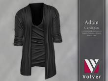 //Volver// Adam Cardigan - Dark Gray