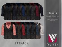 //Volver// Travis Shirt & Waistcoat - FATPACK