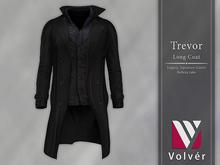 //Volver// Trevor long Coat - Black