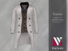 //Volver// Trevor long Coat - White