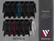 //Volver// Trevor long Coat - FATPACK