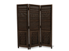 Dutchie mesh hand carved Indonesian folding screen