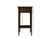 Dutchie mesh teak bedside table with lock and key