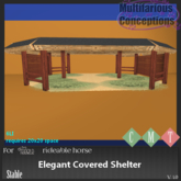 [MC] Elegant Covered Shelter(wear to unpack)