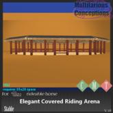 [MC] Elegant Covered Riding Arena  (wear to unpack)