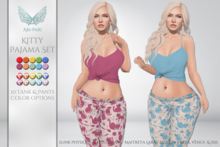 [Ari-Pari] Kitty Pajama Set