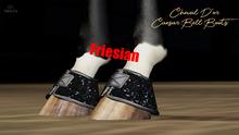 Cheval D'or / TeeglePet Friesian / Caesar Glittery Bell Boot.