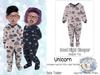 {SMK} Good Night Sleepers | Unicorn | Bebe Toddler