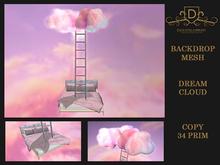 {DC} Backdrop Dream Cloud Mesh