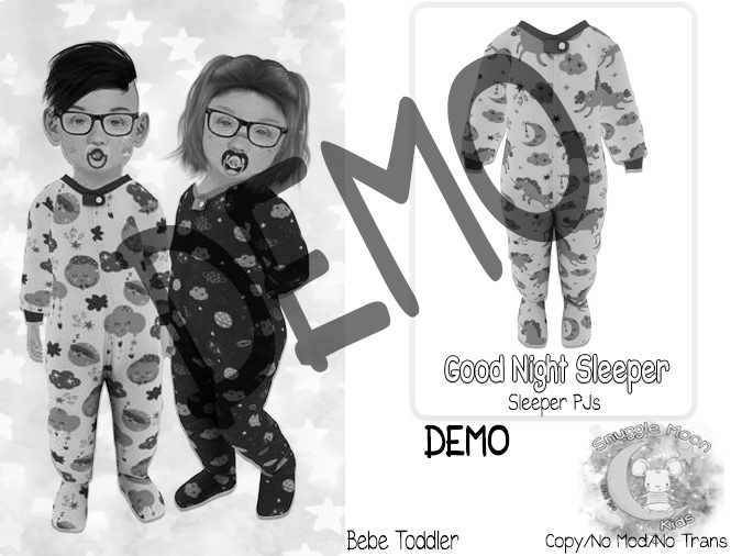 {SMK} Good Night Sleepers   DEMO   Bebe Toddler