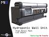 [MB3] Hydroponic Wall Unit