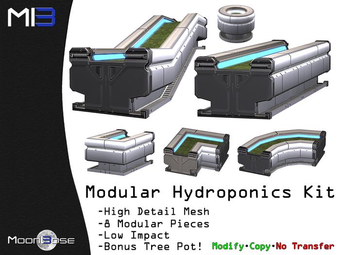 [MB3] Modular Hydroponics Kit