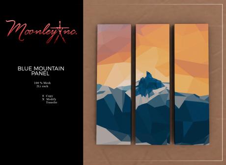 Moonley Inc. - Blue Mountain Panel