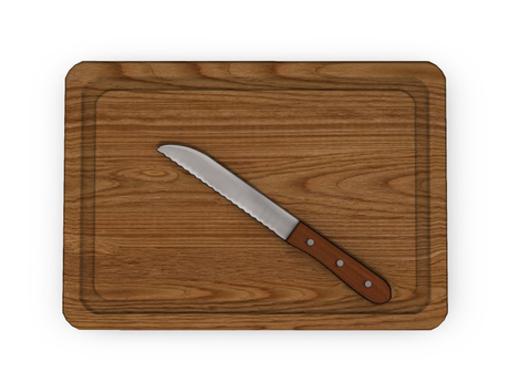 Dutchie mesh cutting board with knife