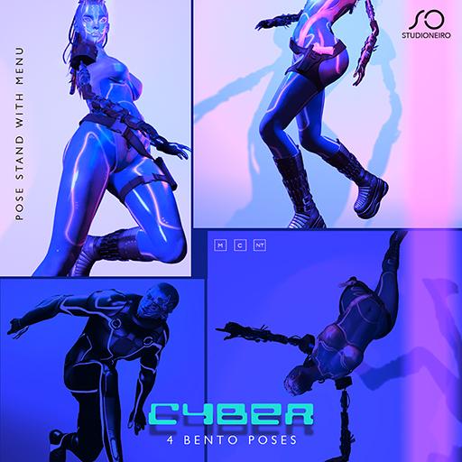 :studiOneiro: Cyber BENTO set /poses/