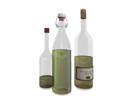 Dutchie 3 mesh bottles with olive oil