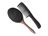 Dutchie mesh makeup and toiletries: hair brush and comb