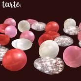 tarte. floor heart balloons