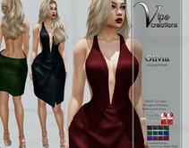 [Vips Creations] - Original Mesh Dress - [Olivia]FITTED-Female Dress