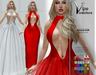[Vips Creations] - Original Mesh Dress - [Luna-Hud]FITTED-Gown Dress-Formal Dress