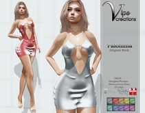 [Vips Creations] - Original Mesh Dress - [Palomma]-[]FITTED