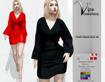 [Vips Creations] - Original Mesh Dress - [Alexandra]FITTED