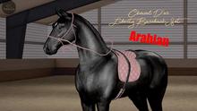 Cheval D'or / TeeglePet Arabian / Liberty Bareback Set. [HUD]