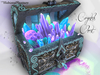 [MF] Magic wizard crystals and gemstones chest (boxed)