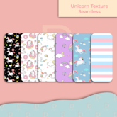 RD Style - Texture Unicorn Seamless Pack