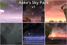 Anke's Sky Pack - Stylized Fantasy EEP Settings