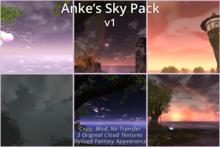 Anke's Sky Pack - Stylized Fantasy EEP Settings