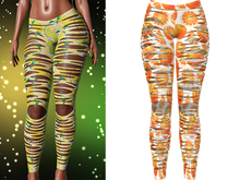 !PCP :: Nova Leggings [Fruity Orange]