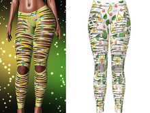 !PCP :: Nova Leggings [Fruity Avocado]