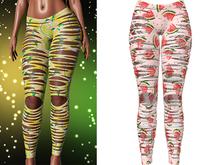 !PCP :: Nova Leggings [Fruity Watermelon]