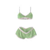 [Petite Pastels] Nadia Lingerie Set Maitreya & Petite - Green