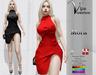 [Vips Creations] - Original Mesh Dress - [Mora]FITTED - Female Dress