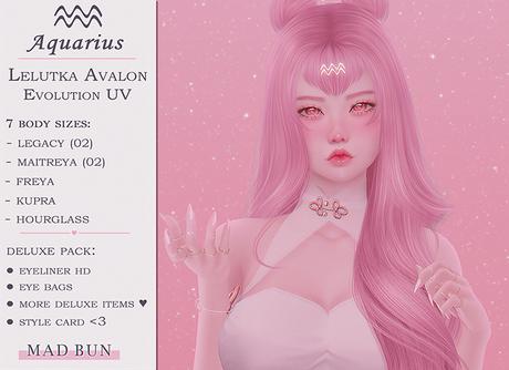 ♒ Aquarius Girl │ Lelutka Avalon