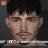 *Heron - Julius eyebrows - Lelutka EVO (BOM)