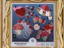BROKEN ARROWS - Romantic -Flower - Red