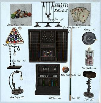 [ zerkalo ] Billiards Z - Hanging Lamp