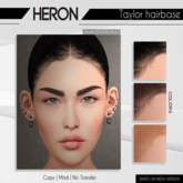 *Heron - Taylor hairbase - Lelutka EVO (BOM)