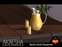 [Akaesha Catering] Orange Juice Pitcher Dispenser (Gives unlimited drinks)