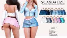 Scandalize. Zarihas SKIRT. FATPACK