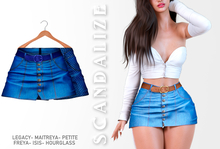 Scandalize. Zarihas SKIRT JEANS.1