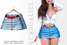 Scandalize. Zarihas SKIRT JEANS.22